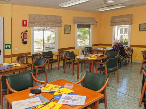 residencia de ancianos en Burgos actividades
