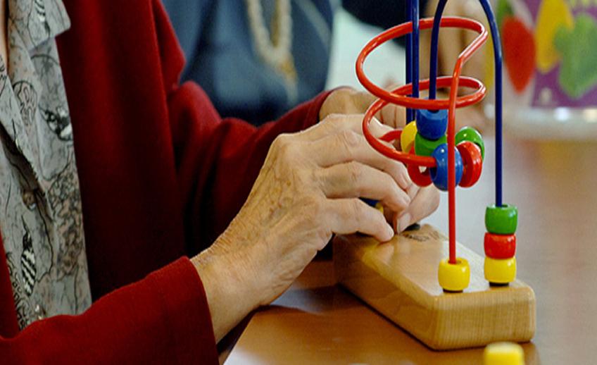 terapia ocupacional en residencia de ancianos en Burgos